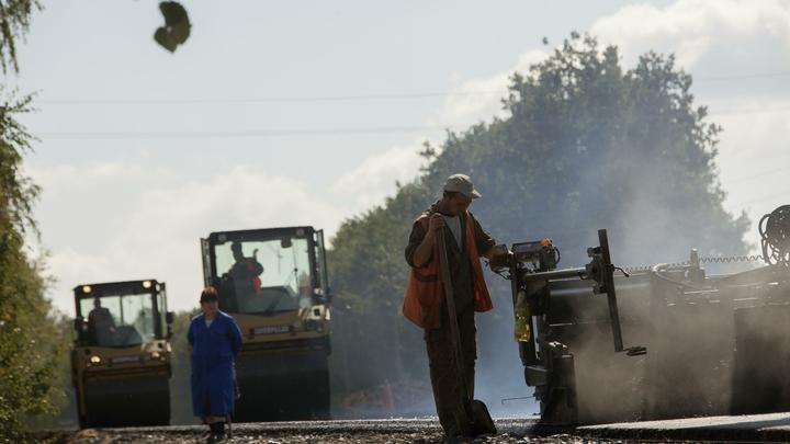 В нижегородской деревне Ольгино построено более 60% новой транспортной развязки