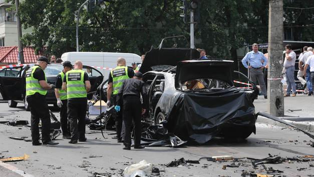 Эксперты: Бомба, подорвавшая главу спецназа ГУР, была установлена на днище авто