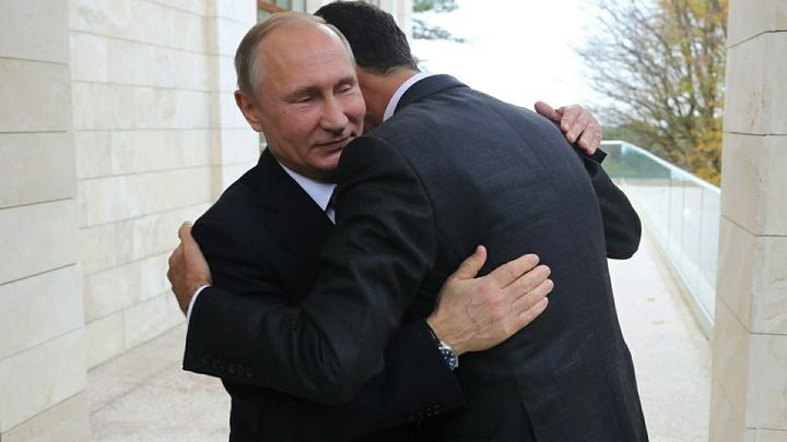 Мы победили вместе: Путин в Сирии обсудил результаты операции с Асадом