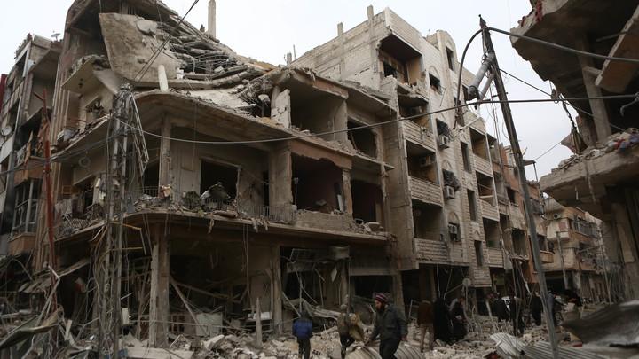 Военная полиция России взяла под контроль сирийскую Думу