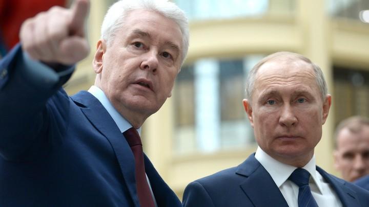 Хочет занять место Путина: Делягин собирает мнения о Собянине после скандала вокруг карантина