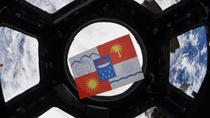 Космонавт Сергей Кудь-Сверчков поздравил Сочи с Днем города с борта МКС
