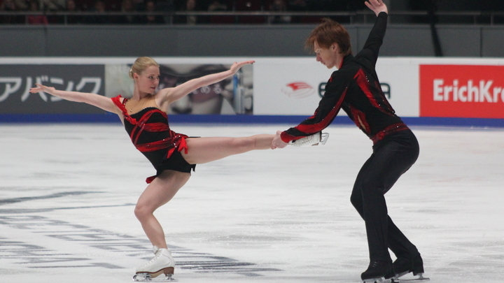 Не дотянули 6 очков: Тарасова и Морозов уступили китайскому дуэту на льду после мирового рекорда