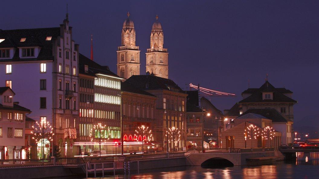Убанка вцентре Цюриха застрелены два человека