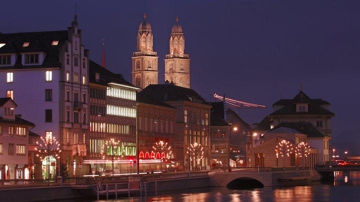 Двух человек расстреляли возле банка в финансовой столице Швейцарии