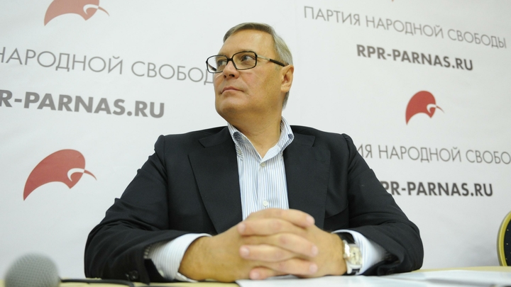 Троянский конь Собчак: Идея Касьянова поддержать блондинку в шоколаде расколола ПАРНАС