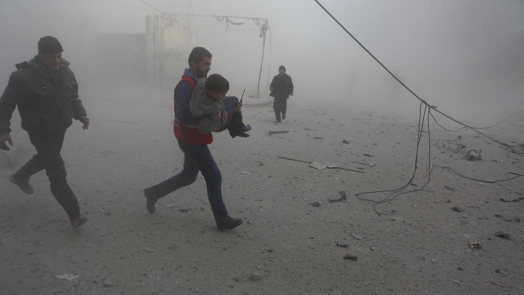 В США нашли в моче неизвестных доказательства химатаки в Сирии