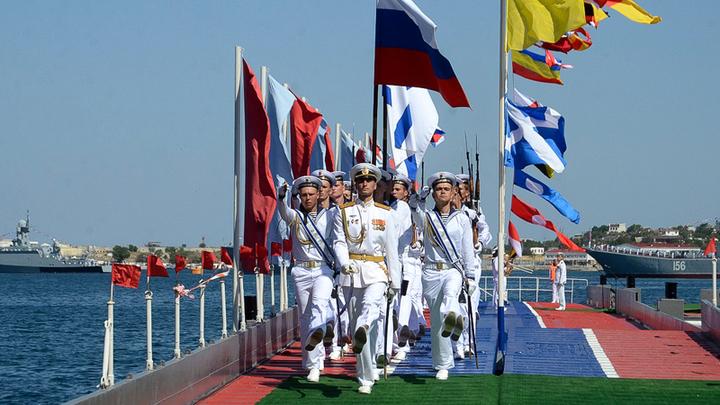 Сведёт с ума Соединенные штаты: День рождения Черноморского флота