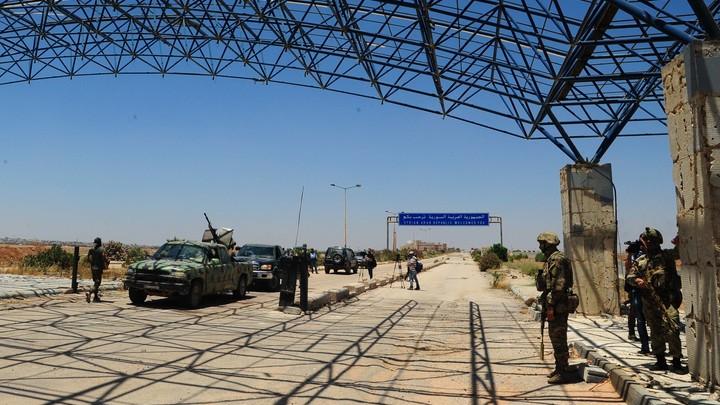 Между Сирией и Израилем появилась настоящая граница — Минобороны РФ