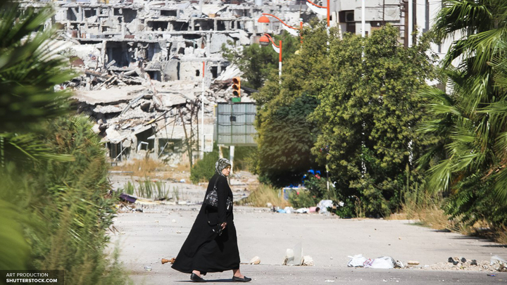 Восстановленная в Алеппо полиция борется с мародерами