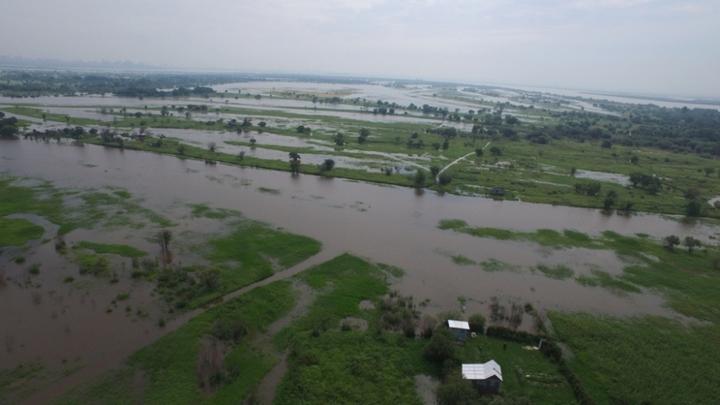 На Хабаровск идут два тайфуна: Затопленным районам грозит четвёртая волна паводка