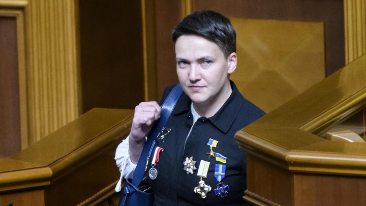Надежда Савченко утверждает, что украинизирует Россию своими речами