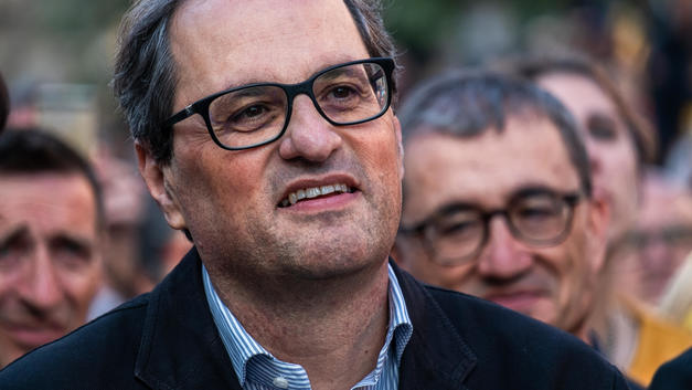 Новый глава Каталонии присягнул ее народу, но не королю Испании