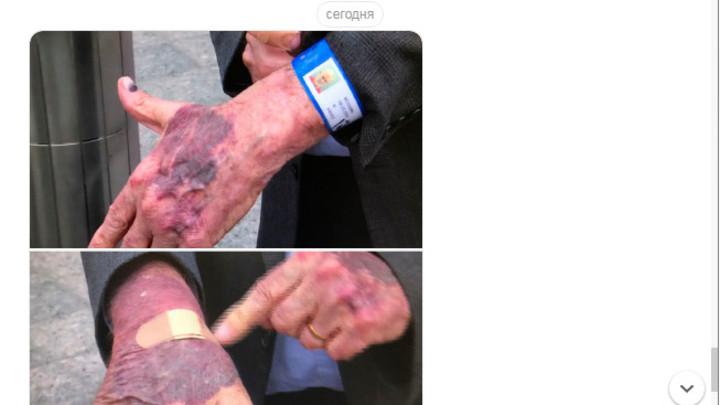 Ветеран ЦРУ показал свои руки после выхода из тюрьмы