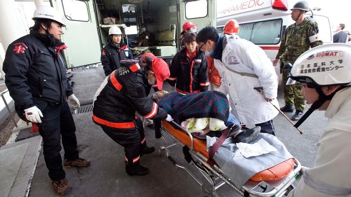 Из-за взрыва в Японии ранено более 40 человек