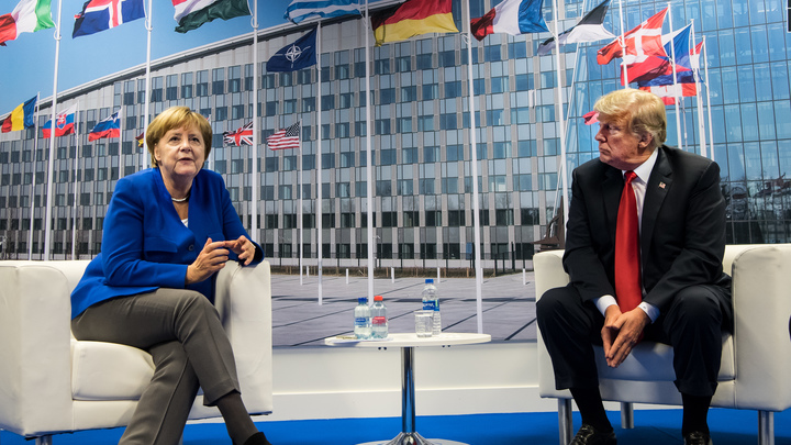 Трамп заставил Меркель объясняться по поводу «Северного потока - 2»