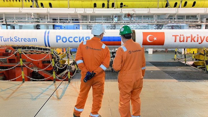Турецкий поток прокачал уже миллиард кубометров российского газа