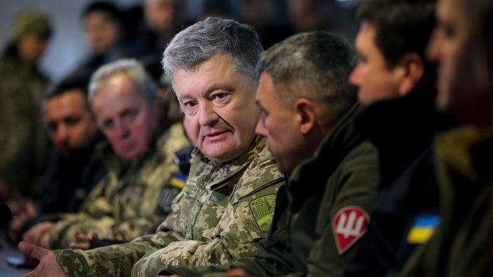 На случай провала - вторжение России: В Сети раскусили предвыборный план Б Порошенко