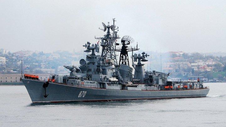 Киев спустя пять часов забил тревогу: Сторожевик ВМФ РФ зашел в закрытую зону учений Sea Breeze