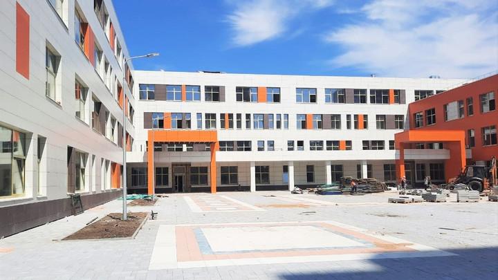 Строительство школы на 1100 мест закончилось в Люберцах