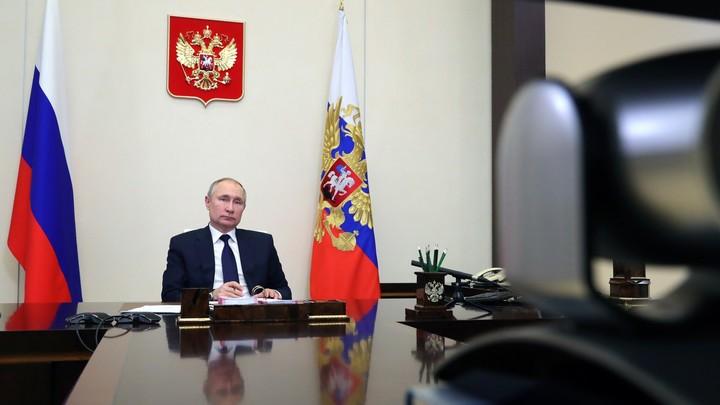 Путин предложил помощь малоимущим: Возможно, это будут продовольственные сертификаты