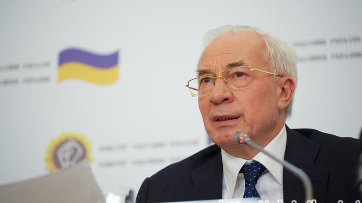 Экс-премьер Азаров разделил фашистов и националистов: Фашисты гонялись за живыми русскими солдатами