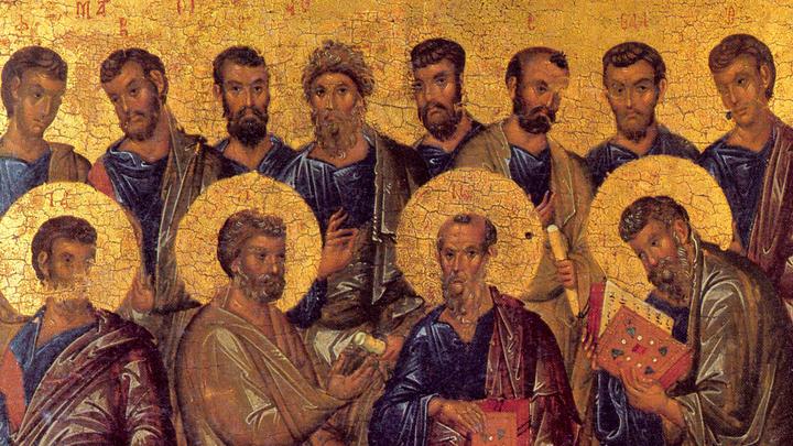 Собор 12-ти апостолов. Православный календарь на 13 июля
