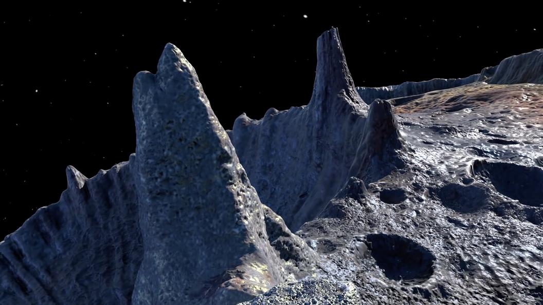НаМарсе найдены следы льда— Ученые