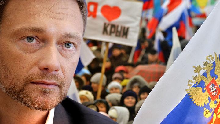 Крым не помеха. Немецкие либералы требуют нормализации отношений с Россией