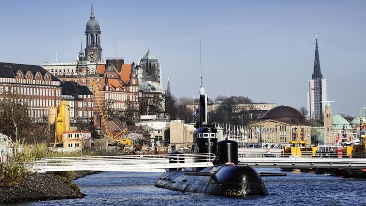 Символом саммита G20 в Гамбурге стала советская подлодка