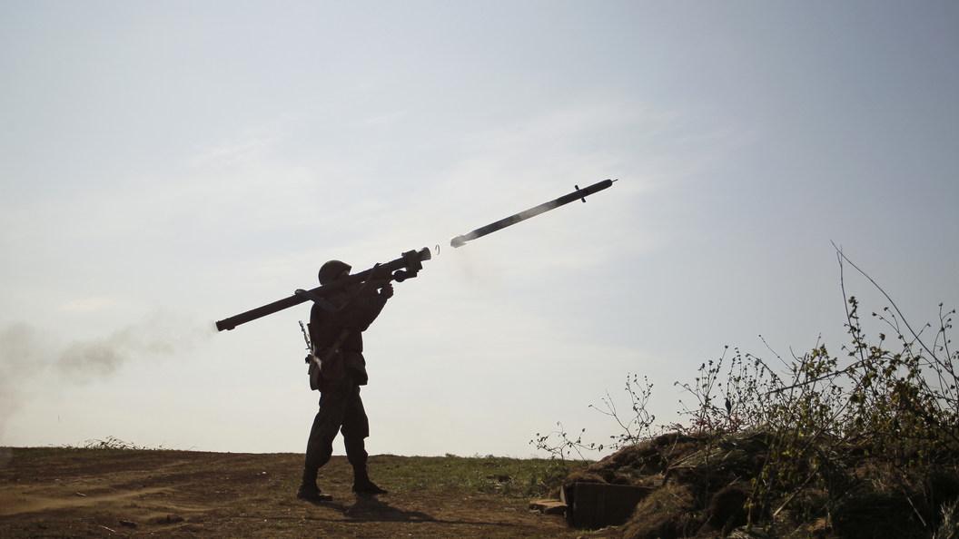 Украинские каратели начали обстрел насосной станции под Ясиноватой