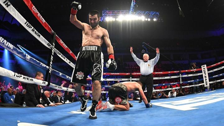 Российский боксер Артур Бетербиев может выйти на ринг 19 апреля