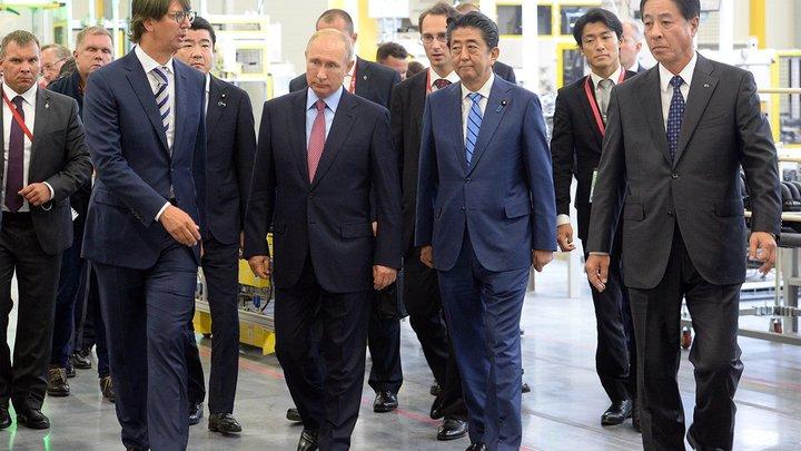Путин договорился встретиться с Абэ через год на G20