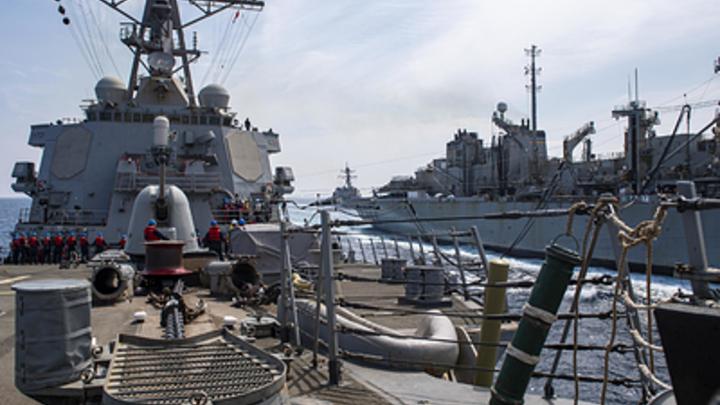 Таран можем повторить: США получили видеопредупреждение после отправки эсминца в Чёрное море