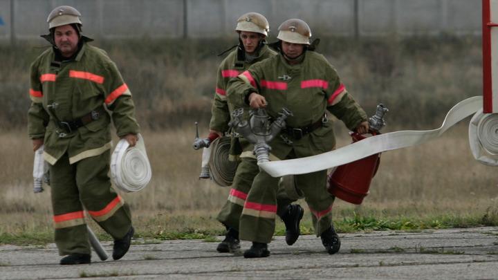 В огне - тысяча квадратных метров: На пилораме в Нижегородской области произошёл крупный пожар