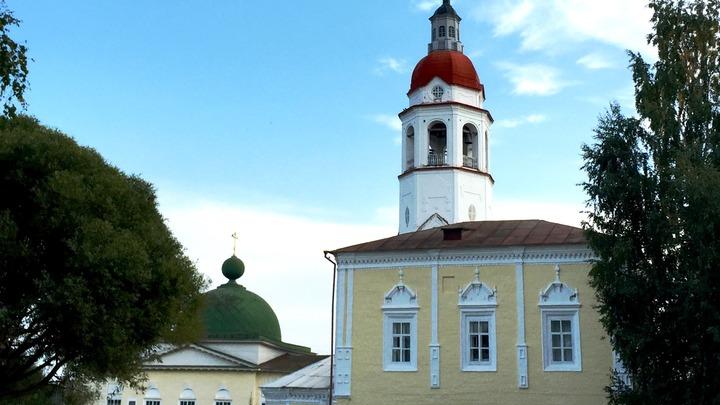 Церковь в Тотьме. Фото автора