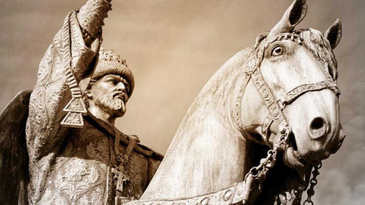 Первый Грозный царь