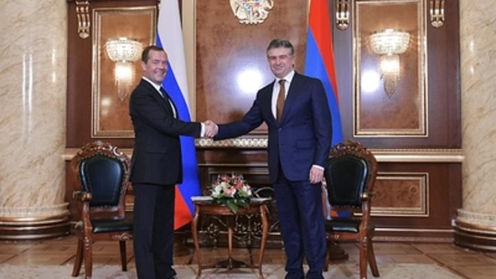 За Россию: К власти в Армении пришел Карен Карапетян