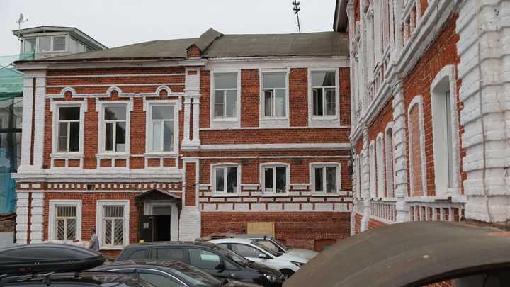 Никитин проконтролировал благоустройство Красной Слободы в Нижнем Новгороде