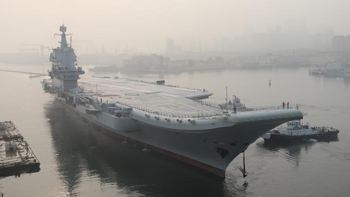В Китае завершены ходовые испытания первого «домашнего» авианосца