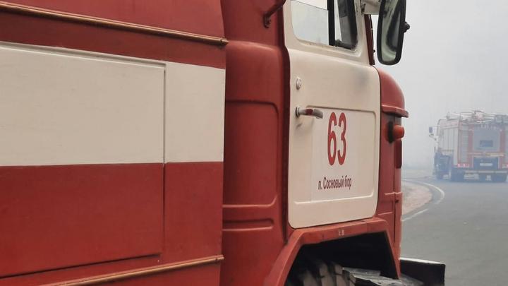 При пожаре в Новосибирской области погиб пенсионер