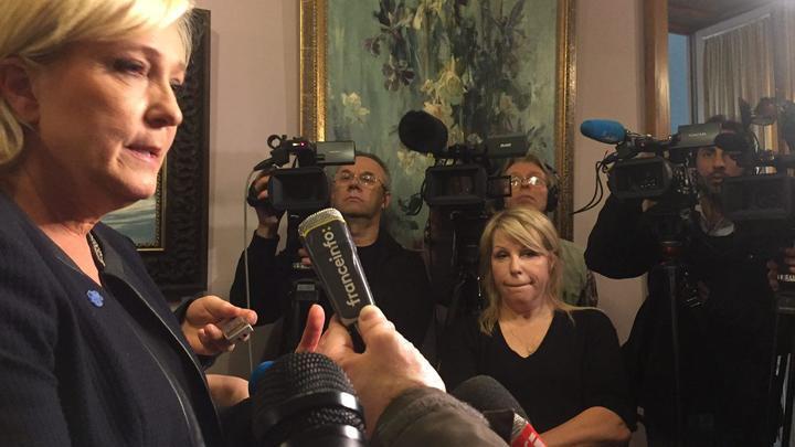 Ле Пен: Вариантов нет - Россия и Франция должны быть стратегическими партнерами