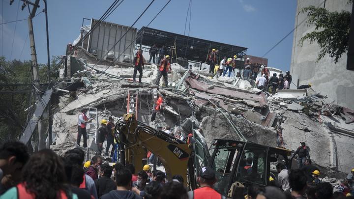 Число жертв землетрясения в Мексике увеличилось до 119
