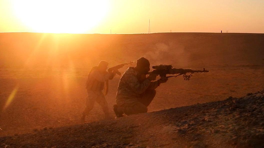 Исламские боевики изгруппировки живьем сожгли попавшего вплен летчика