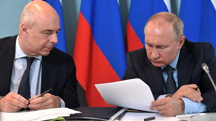 Путин высказал Силуанову о денюжках: Сейчас всё-таки сделаю