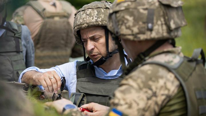 В 400 метрах от «противника»: Зеленский посетил Счастье в Донбассе