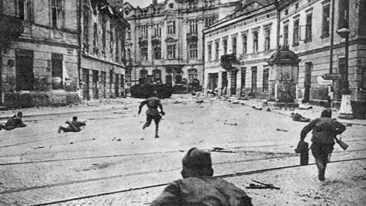 Как Красная армия добила немцев на Украине