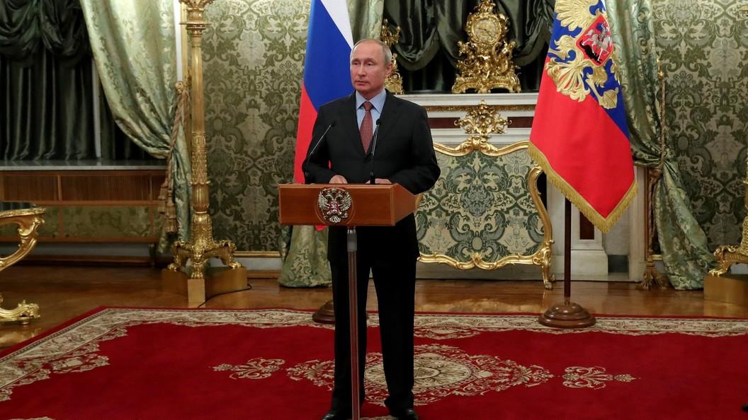 Путин заявил о необходимости прорыва в экономике и благосостоянии граждан