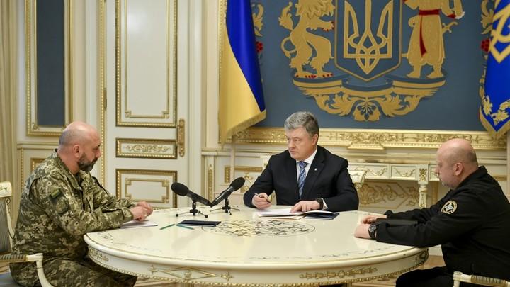 Пиар-акция от СНБО: Падающий рейтинг украинского гаранта должны поддержать испытания новых ракет