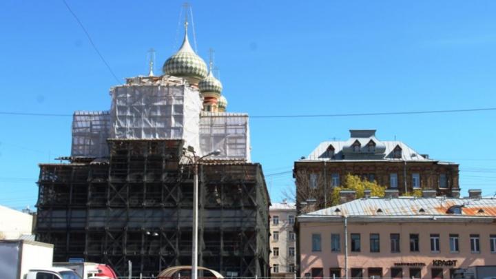 Обновлённая колокольня Церкви Покрова Пресвятой Богородицы в Петербурге зазвучит 1 декабря